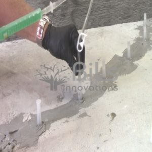 Epoxy Grout for crack injection